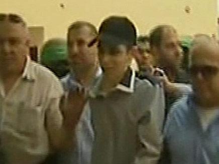 שחרור גלעד שליט (צילום: חדשות 2)