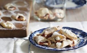 עוגיות ריבה וגבינה (צילום: דניאל לילה, מחלבות גד)