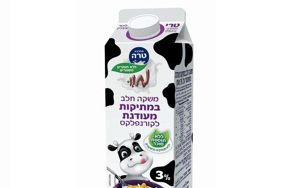 חלב לקורנפלקס במתיקות מעודנת, טרה (צילום: עדלי,  יחסי ציבור )