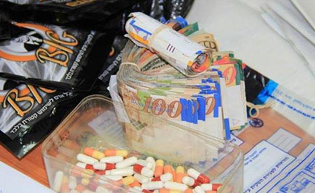 פיצוציה, פיצוציות, סמים (צילום: משטרת ישראל)