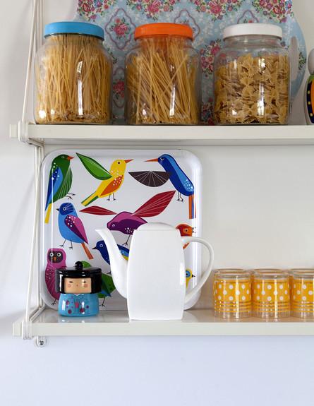 הביתה של גילת, ג, מדפי מטבח (צילום: הגר דופלט)