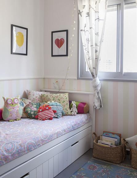 הביתה של גילת, ג, חדר ילדים  (צילום: הגר דופלט)