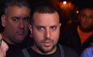 """אביאל ניני, אחיו של סמל דור ניני ז""""ל (צילום: חדשות 2)"""
