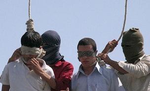 איראן הוצאה להורג (צילום: ISNA)
