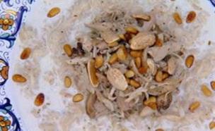 למא שחאדה – עוף ואורז ביוגורט עזים  (תמונת AVI: מתוך מאסטר שף 5, שידורי קשת)