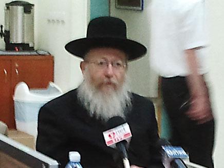 יעקב ליצמן, ארכיון (צילום: יוסי זילברמן - חדשות 2)