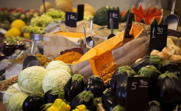 ריחות וטעמים שוק איכרים ירקות (צילום: אפיק גבאי, אוכל טוב)