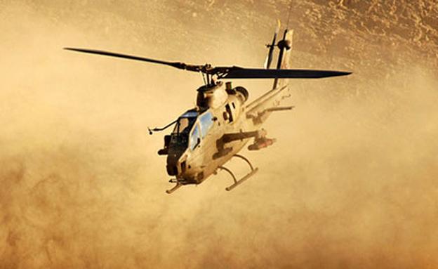 """תרגיל צה""""ל - מסוק קוברה של  חיל האויר (צילום: דו""""צ)"""