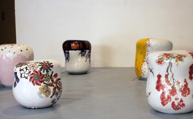 בצלאל, עיצוב קרמי וזכוכית, נועה ראזר(2) (צילום: סשה פליט)