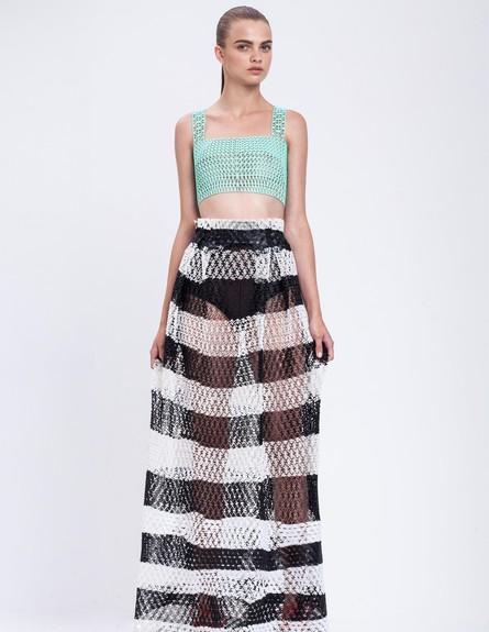 שנקר, עיצוב אופנה, דנית פלג(2) (צילום:  רון קדמי )