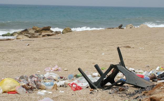 פסולת בים, לכלוך