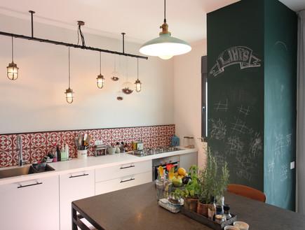 הדירה של ליהי הוד, גוף תאורה במטבח
