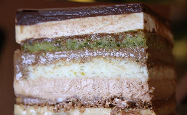עוגת 11 השכבות של עידן חדד (צילום: דניאל בר און)