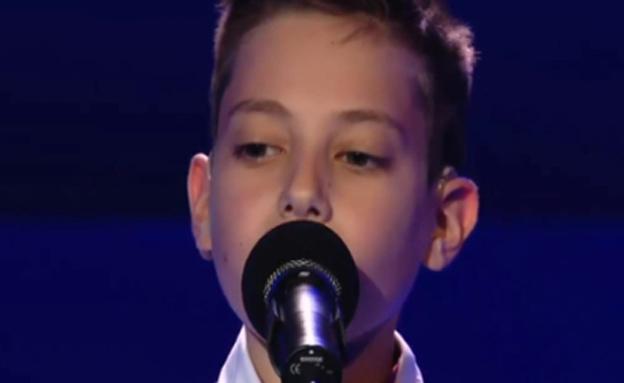 הילד החירש שהפך לזמר (צילום: חדשות 2)