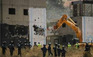הרס בית אל (צילום: חדשות 2)