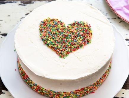 עוגת אהבה של נולה (צילום: שרית גופן, קפה נולה)