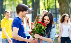 אוהבים צעירים (צילום: Shutterstock, מעריב לנוער)