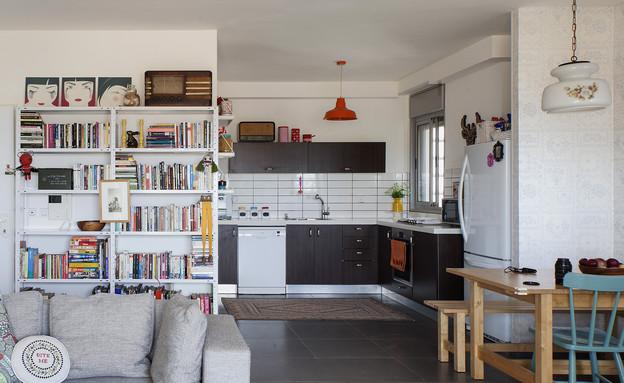הביתה של גילת, מטבח  (צילום: הגר דופלט)