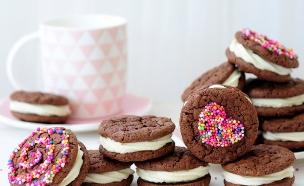 עוגיות סנדוויץ' (צילום: שרית נובק - מיס פטל, אוכל טוב)