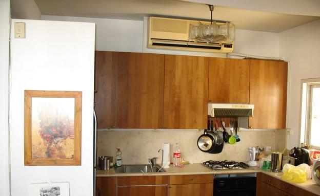 צח רונן, המטבח לפני (צילום: צילום ביתי)