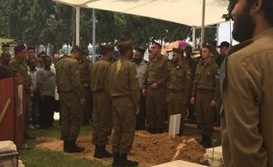 הלווייתו של ימטה, היום (צילום: חדשות 2)