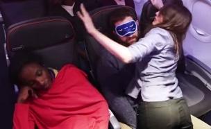 מטוס נוסעים (צילום: יוטיוב)