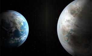 נמצא כוכב דומה לכדור הארץ (צילום: חדשות 2)