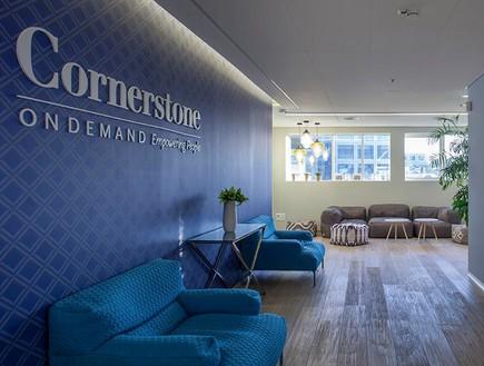 משרדים מעוצבים, cornerstone1  (צילום: יואב גורין)