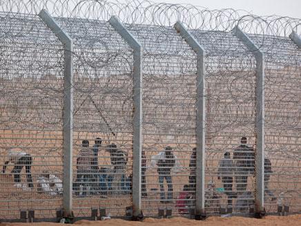 מסתננים בגבול ישראל-מצרים