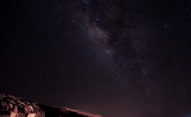 ליל מטאורים (צילום: רשות הטבע והגנים)