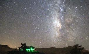 ליל מטאורים (צילום: גל ביסמוט)