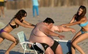 גבר שמן (צילום: imgur.com)