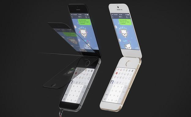 גאראקיי-פון - אייפון בתצורת צדפה