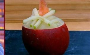 גרניטה תפוחים של איב ענן (צילום: מתוך מאסטר שף 5, שידורי קשת)