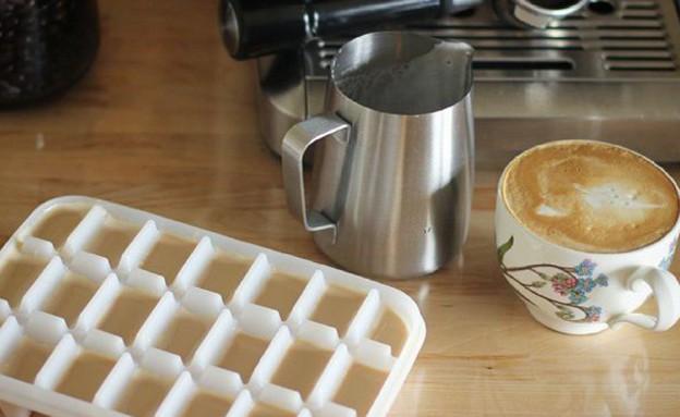 טריקים לבית, קוביות קפה (צילום: מתוך האינסטגרם של siwoodari)