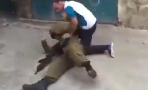 הסתה נגד חיילי צהל בפייסבוק (צילום: מתוך הסרטון)