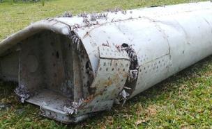 שרידי המטוס המלזי שנמצאו (צילום: CNN)
