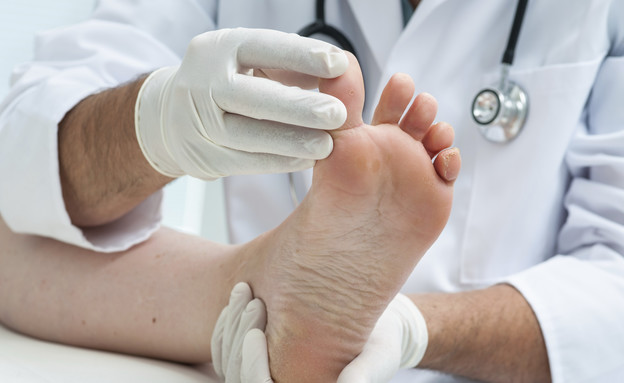 כפות רגליים מטופלות (צילום: אימג'בנק / Thinkstock)