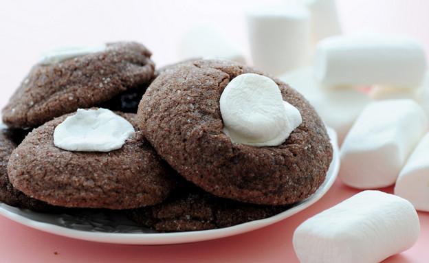 עוגיות שוקולד ומרשמלו (צילום: שרית נובק - מיס פטל, אוכל טוב)