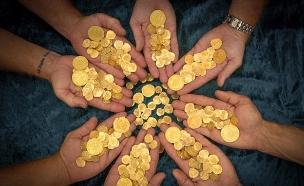 מטבעות ספרדים (צילום: 1715 Fleet - Queens Jewels)