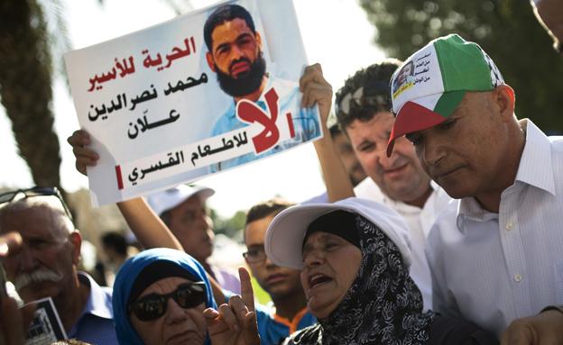 הפגנות למען שחרורו, ארכיון (צילום: רויטרס)