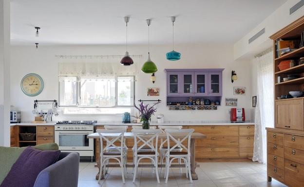 ארונות מטבח, מטבח בעיצוב מרב זהר (צילום: שי אדם)