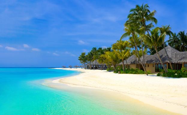 חוף במלדיבים (צילום: Zoonar RF, GettyImages IL)