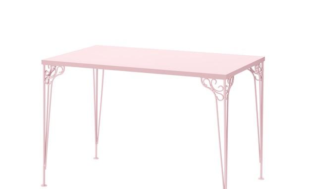 קטלוג איקאה 2016, שולחן כתיבה ורוד 395 שקל