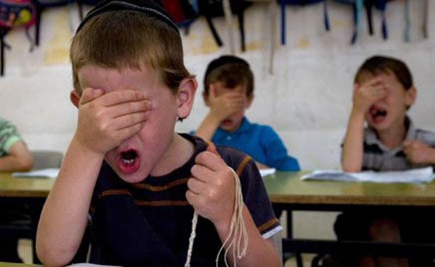 """""""לימודי חול נחשבים לפגיעה ביהדות"""" (צילום: רויטרס)"""