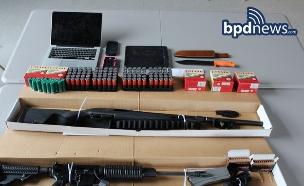רובים באליפות פוקימון (צילום: Boston Police Department)