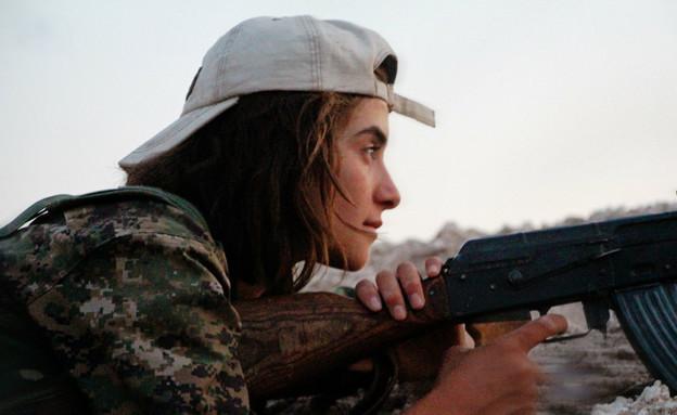 לוחמת כורדית (צילום: flickr/free kurdistan)