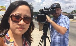 קמפיין הזדהות לעיתונאים שנרצחו (צילום: Vicki Chen)