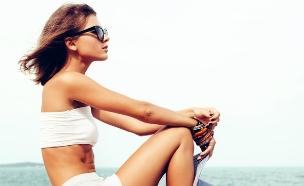 בחורה בבגד ים (צילום: אימג'בנק / Thinkstock)