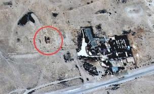 """המקדש בחודש יוני (צילום: סוכנות המחקר של האו""""ם)"""